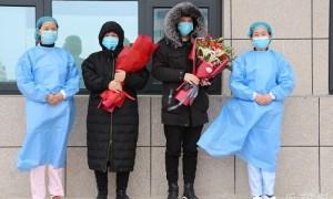 原阳县首例、第二例新冠肺炎患者刚刚治愈出院